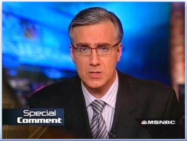 keith olbermann 101 Olbermann Suspended from MSNBC! UPDATE