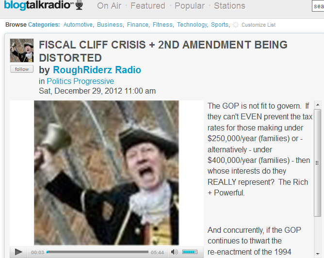FireShot Screen Capture #158 - 'FISCAL CLIFF CRISIS + 2ND AMENDMENT BEING DISTORTED 12_29 by RoughRiderz Radio I Blog Talk Radio' - www_blogtalkradio_com_roughriderz_2012_12_29_fiscal-cliff-crisis-2nd-am