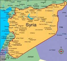 SYRIA - MAP