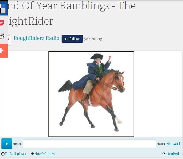 YEAR-END RAMBLINGS - ROUGHRIDERZRADIO