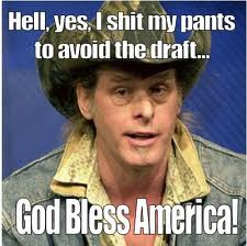 TED NUGENT - I SHIT MY PANTS 2 AVOID DRAFT