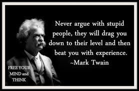 STUPID PEOPLE - MARK TWAIN