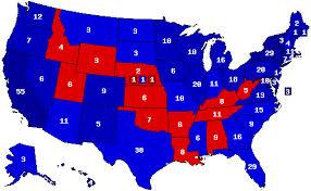 BLUE AMERICA - GOP THUMPED IN 2016