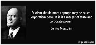 CORPORATISM - BENITO MUSSOLINI
