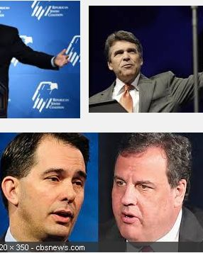 FIRESHOT - RICK PERRY - CHRIS CHRISTIE - SCOTT WALKER