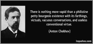 Anton Chekhov - Philistine Petty Bourgeois
