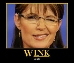 SARAH PALIN - THE WINK