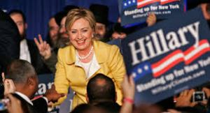 HILLARY CAMPAIGNING -4-13-15