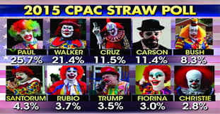 GOP CLOWN CAR - 2015