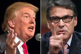 TRUMP ATTACKS PERRY - 7-27-15