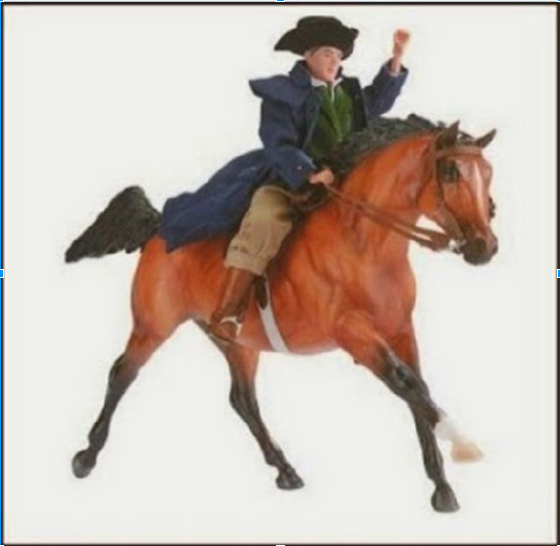 PaulRevereRides - PAUL ON HORSE BACK - 640 x 640