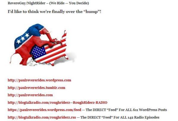 PaulRevereRides-WordPress - GOP HUMPING - MY WEBSITES