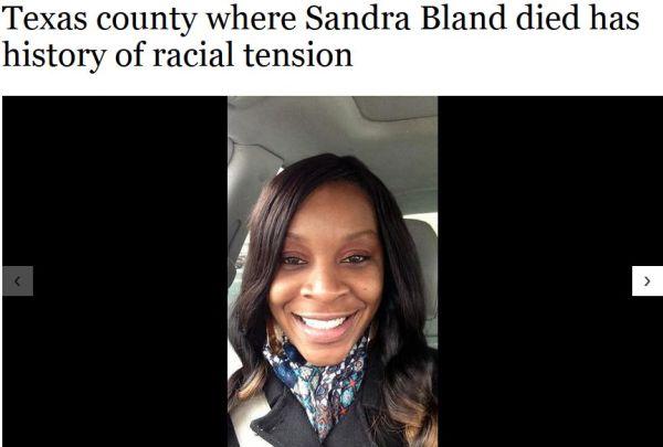 SANDRA BLAND - FIRESHOT - 7-26-15