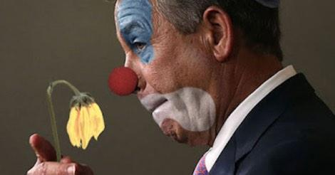 BOEHNER AS A BOZO