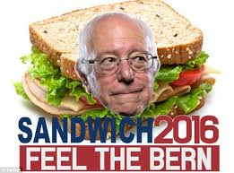 """ANYONE CAN BE PRESIDENT, IF THEY HAVE THE """"RIGHT STUFF""""! — TROUBLE IS, BERNIE, YOUDON'T!"""