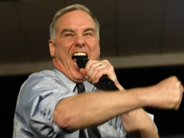 HOWARD DEAN --- THE SCREAM --- 7-9-16